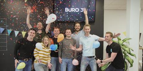 Buro 3 bestaat 10 jaar! tickets