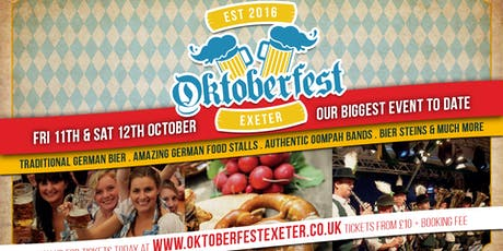 Oktoberfest Exeter - 4th Year Special tickets