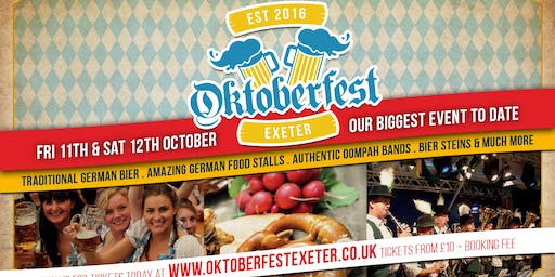 Oktoberfest Exeter - 4th Year Special