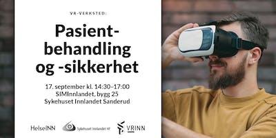VR-verksted: pasientbehandling og pasientsikkerhet