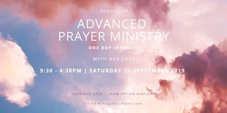 TRIBE MINISTRY SCHOOL  Advanced Prayer Ministry Training tickets