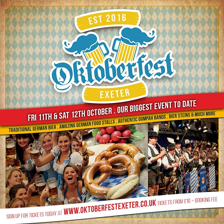 Oktoberfest Exeter - 4th Year Special image