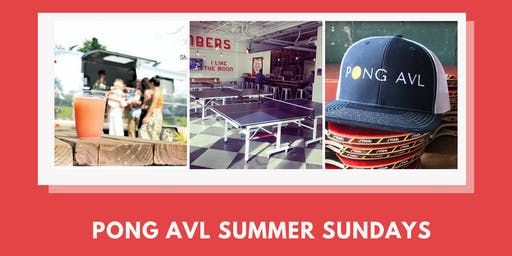 Summer Sundays with Pong AVL:  Team Ping Pong Tournament