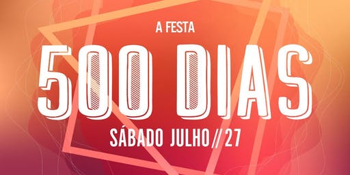 Festa dos 500 dias Psico turma 2020 UNIP
