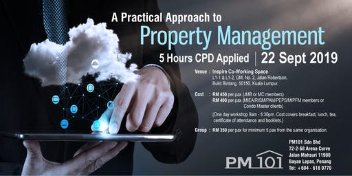 PM 101 KL Workshop - A Practical Approach to Property Management