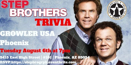 Step Brothers Trivia at Growler USA Phoenix tickets