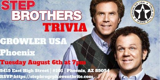 Step Brothers Trivia at Growler USA Phoenix