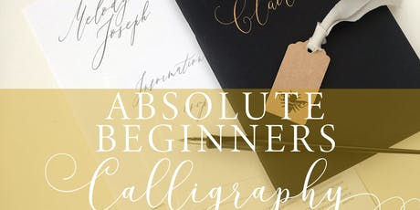 Introduction to Modern Calligraphy with Moon and Tide tickets
