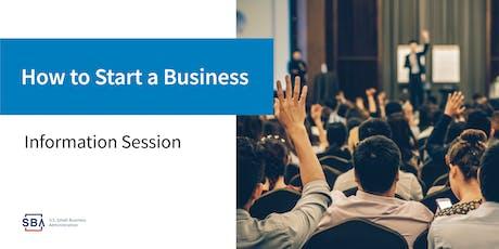 Business Start-up 101 tickets