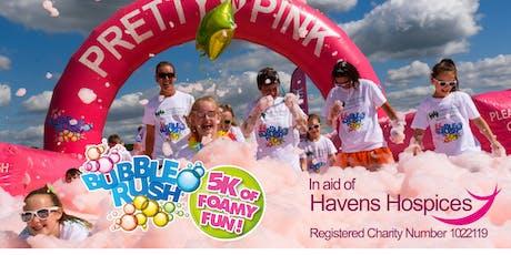 Bubble Rush - Southend-on-Sea: 5k fun run with coloured bubbles tickets