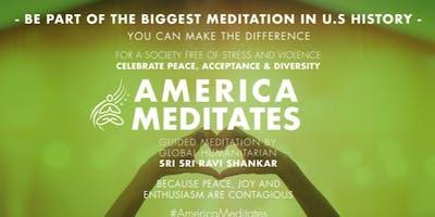America Meditates- A Mental Health Awareness event