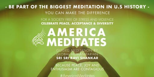 America Meditates- A Mental Health Awareness event