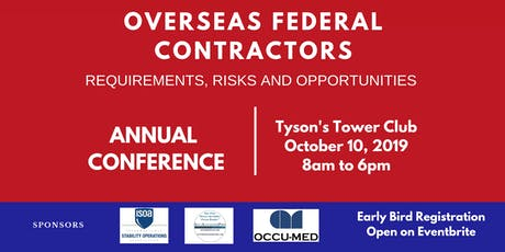 2019 Overseas Federal Contractors - Requirements, Risks and Opportunities  tickets