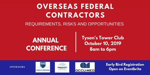 2019 Overseas Federal Contractors - Requirements, Risks and Opportunities