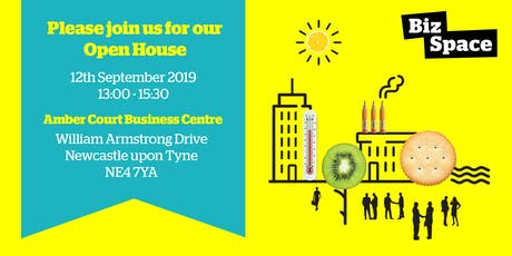 ===== OPEN HOUSE ===== Launch: BizSpace Newcastle Amber Court tickets