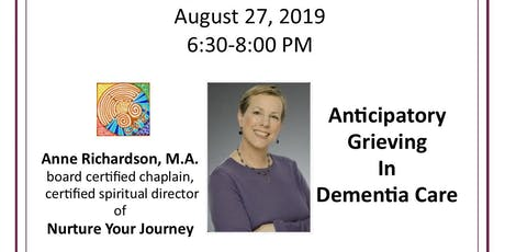 HOPE Community Education - Anticipatory Grieving in Dementia Care tickets