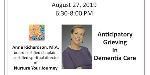 HOPE Community Education - Anticipatory Grieving in Dementia Care