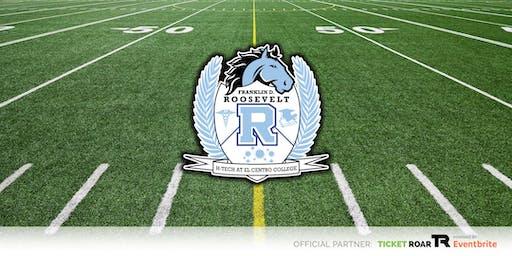 Roosevelt vs Wilmer Hutchins Varsity Football