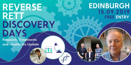 Reverse Rett Edinburgh Discovery Day tickets