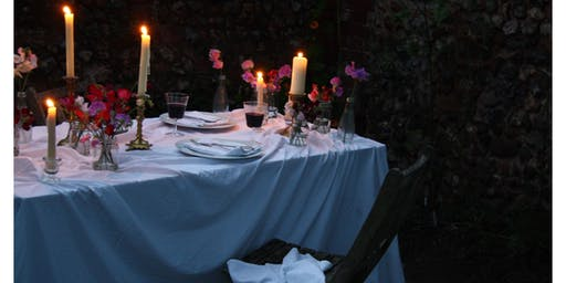 Dine Among The Flowers - Dinner & Jazz in the Walled Garden