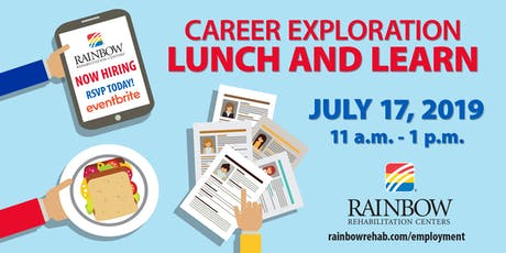 Rainbow Rehabilitation Centers Careers Lunch & Learn tickets