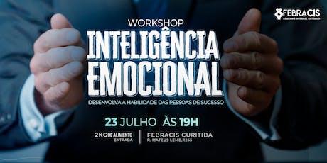 [CURITIBA/PR] Workshop Inteligência Emocional 23/07 ingressos