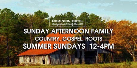 Sunday Afternoon Gospel, Roots, Country tickets