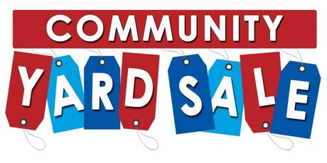 Community Yard Sale 2 tickets