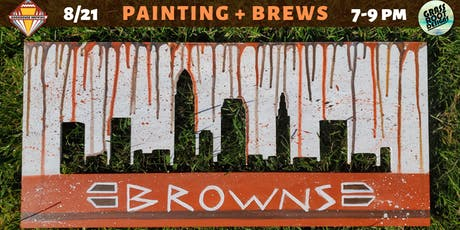 Cleveland Browns | Painting + Brews at Bookhouse Brewing tickets