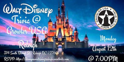 Disney Trivia at Growler USA Raleigh