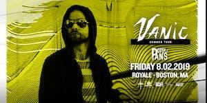Vanic | 8.2.19 | 10:00 PM | 21+