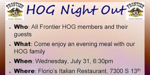 HOG Night Out - July 2019