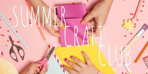 Summer Craft Club
