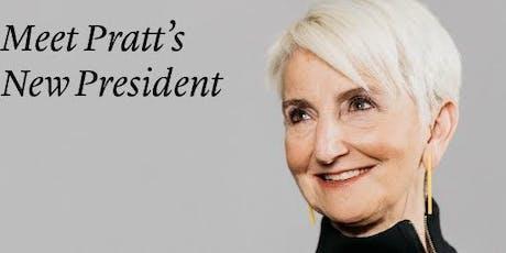 Meet Pratt's New President Frances Bronet tickets