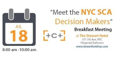 Meet the NYCSCA Decisions Makers