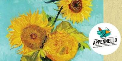 Girasoli e Van Gogh: aperitivo Appennello a Como