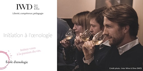 Initiation à l'œnologie tickets