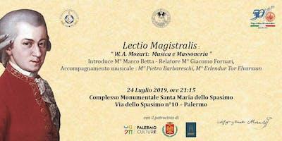 W.A. Mozart: Musica e Massoneria (Lectio Magistralis)
