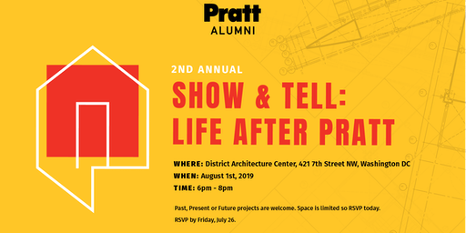 Pratt Alumni D.C. Show & Tell: Life After Pratt