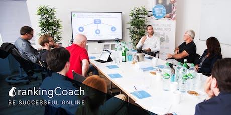 Kostenfreier Online Marketing Workshop in Berlin: SEO als Geschäftsmodell Tickets