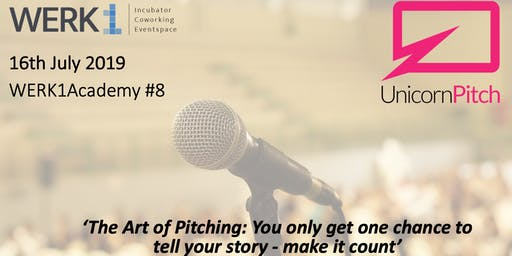 """WERK1Academy powered by Unicorn Pitch 