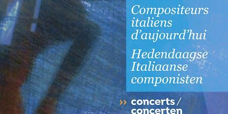 """Duo Dubois e Jacqueline Berndt. Ciclo di concerti """"Compositori italiani di oggi"""" biglietti"""