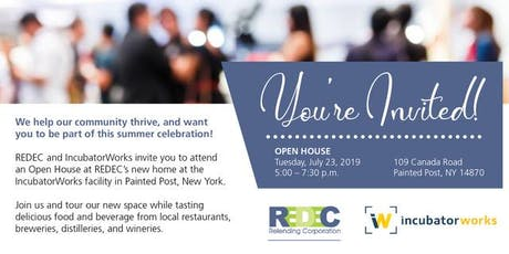 REDEC | IncubatorWorks Open House tickets