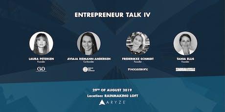 Entrepreneur Talk IV billets