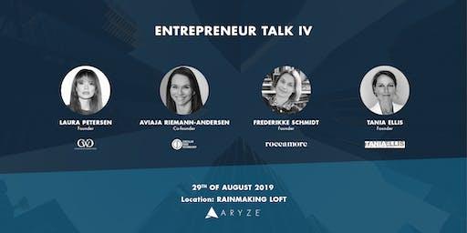 Entrepreneur Talk IV