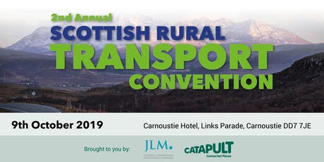 The 2nd Annual Scottish Rural Transport Convention tickets