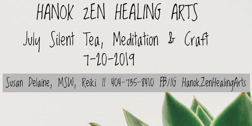 July Silent Tea and Meditation