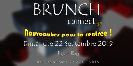 BRUNCH CONNECT #9 billets