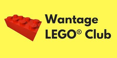 Wantage LEGO® Club 7th September 2019
