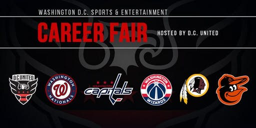 2019 Washington D.C Sports and Entertainment Career Fair
